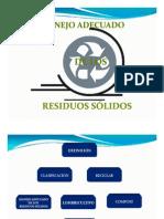Manejo Adecuado de Los Residuos s.