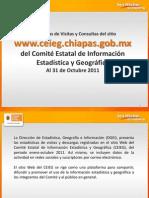 Reporte del sitio Web del CEIEG Enero-octubre 2011