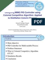 Imperialist Competitive Algorithm ICA presentation slides ppt