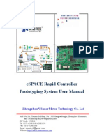 MATLAB and DSP Based Rapid Controller Pro to Typing System User Manual