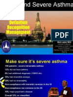 Acute and Severe Asthma - Bob Lanier MD