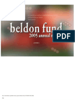 Beldon Fund - Grants List - 2005