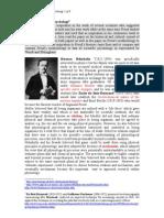 Scientific Precurseurs to Freud