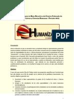 Plan de Trabajo Para La Mesa Directiva Del Centro Federado de La Facultad de Letras y Ciencias Humanas (1)