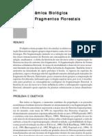 Dinamica Biologica de Fragmentos Florestais