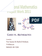 Additional Mathematics Project Work