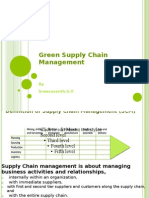 Forgreen Supply Chanin Management for Up