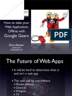 Future of Web Apps Google Gears