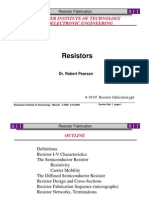 L6 Resistor Fabrication