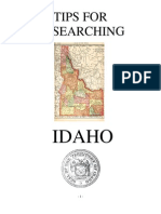 Tips for Researching Idaho History