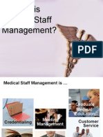 What is Medical Staff