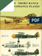 German Short Range Reconnaissance Planes 1930-1945