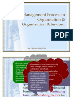 Management Process in ion & ion Behaviour