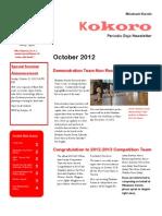 Minakami Karate Newsletter (Kokoro)
