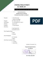 Pan Pemb & Profil Ponpes