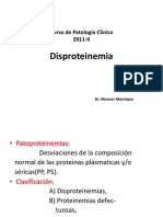 17ma Clase Pato Clínica - Disproteinemias