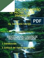 CURSO PROYECTOS Identificación y diseño de proyectos