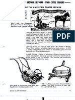 Manual Section 1 Mower History