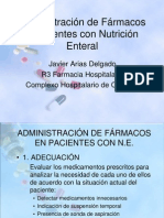 formas de administración de medicamentos