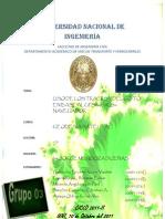 3er Informe de Geodesia