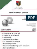 1.1 Introducción a las Finanzas