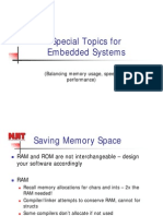 Special Topics Embedded Systems Lecture