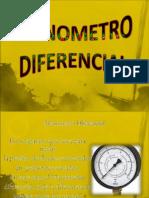 Manometro Diferencial [Metro]