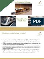 카타르_철도프로젝트_발표자료[2011.05.16~18]