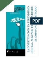 Internet y Periodista Digital en El Contexto Infomativo