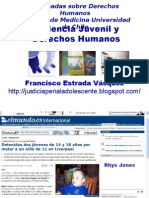 Violencia Juvenil y Derechos Humanos Francisco 720