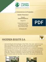 Presentacion Proyecto Hacienda Bogotá S.A.