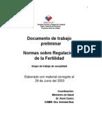 Normas Ministerio Planificacion Familiar 2003
