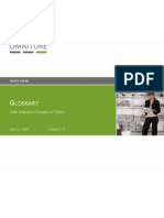 Glossary for Omniture