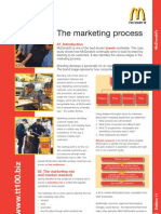 Mcdonalds Marketing Process