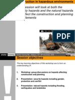 Day3 10 Construction in Hazardous Environments