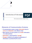 1. Introduction of Telecommunication