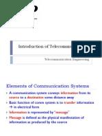 1. Introduction of Telecommunication