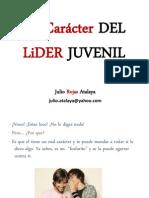 EL CARÁCTER DEL LÍDER JUVENIL PPS