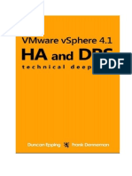 VMware vSphere 4.1 HA and DRS Technical Deepdive Volume 1