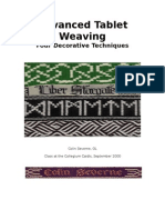 Advanced Tablet Weaving