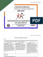 PELC 2010 - Edukasyon Sa Pagpapalakas Ng Katawan