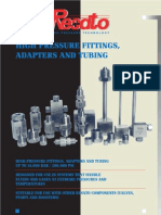 High-Pressure Fittings and Adapters