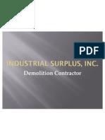 Industrial Surplus