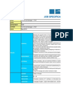 Job Specification Technical Manager Php