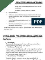 Periglaciation Areas