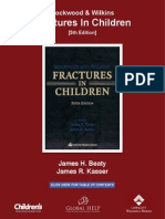 [Beaty & Kasser] Rockwood & Wilkins' Fractures in Children (5th Edition)