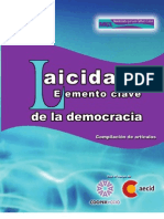 Laicidad Elemento Clave de La Democracia