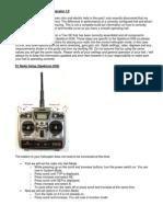 Align Trex SE DX6 Setup Guide