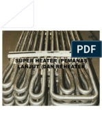 Super Heater (Pemanas Lanjut) Dan Reheater