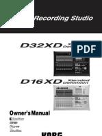 d32xd d16xd Manual e5